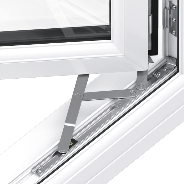Trade uPVC French Casement Windows - easy clean
